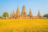 Храм Ват чай watthanaram — Стоковое фото