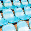 Empty stadium seats — Stock Photo #40782603
