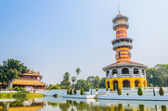 Tower in bang pa-in palace — Stock Photo
