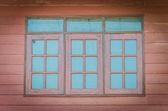 Old wood window — Stock Photo