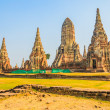 Wat Chai Watthanaram temple — Stock Photo #41066593