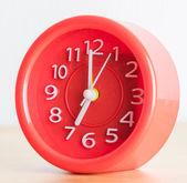 Red clock — Stock Photo