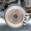 Stock Photo: Disc brakes