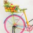 Bicycle with basket — Foto Stock #41243977