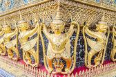 Architecture around emerald temple — Stock Photo
