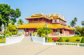 Chinese temple in bang pa — Stock Photo