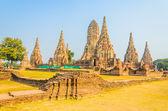 Wat Chai Watthanaram temple — Stock Photo