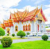 Benchamabophit temple — Stock Photo