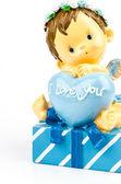 I love you decoration — Stock Photo