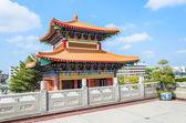 Chinesischer Tempel in thailand — Stockfoto