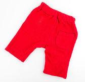Short red pants — Stock Photo