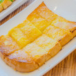 Bread with butter — Stock Photo