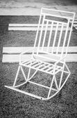 White chair — Foto Stock
