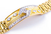 Bracelete de ouro — Foto Stock