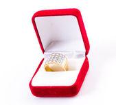 Diamond ring — Стоковое фото