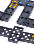 Domino biały — Zdjęcie stockowe