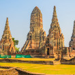 Stock Photo: Wat Chai Watthanaram temple
