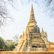 Wat PhrSi Sanphet temple — Stock Photo #41873485