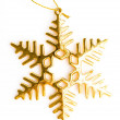 Decoration for christmas tree — Stock Photo