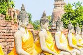 Templo de wat yai chaimongkol — Fotografia Stock