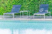Pool beds — 图库照片
