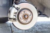 Disc brakes — Stock Photo