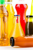 Soft drink bottles — Stock Photo