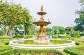 Fountains in the park — Stock Photo