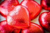 Chocolate hearts — Foto de Stock