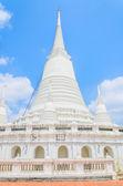 White pagoda wat-prayoon — Stock Photo