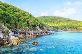 Wyspa Koh larn plaży — Zdjęcie stockowe