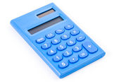 Calculator on white — Foto Stock