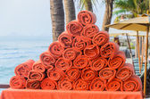 Beach towels — Stock Photo