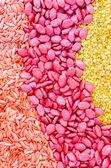 семена красочные текстуры — Стоковое фото