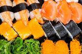Sushi texture — Foto Stock