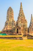 Wat chai watthanaram tempel — Stockfoto