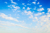 Cloud with sky background — Stock Photo