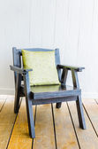 Wood chair — Stock Photo