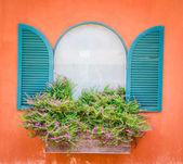 Tuscany window — Stock Photo