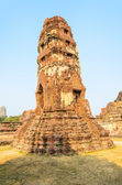 Old temple in Ayutthaya, Thailand — Stock Photo