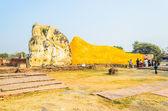 Buddhastatyn sömn — Stockfoto