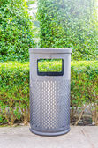 Bin outdoors — Stock Photo