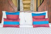 Almohadilla de cama — Foto de Stock