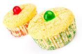 Vanille cupcake — Stockfoto
