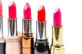 Lipstick isolated white background — Stock Photo
