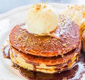 Icecream pancake — Photo