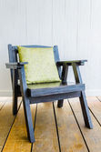 Wood chair furniture — Stock Photo