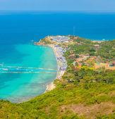 Koh larn spiaggia tropicale isola nella città di pattaya thailandia — Foto Stock