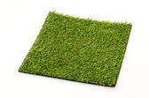 Grass mat isolated white background — Stock Photo