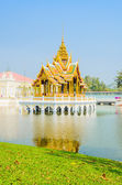 Architecture Bang pa in palace thailand — Stock Photo